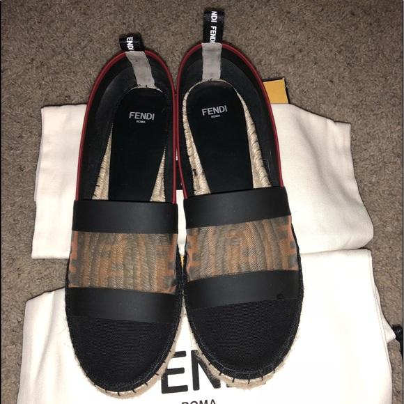 261c1c2a414a Fendi Shoes - Authentic Fendi Espadrilles